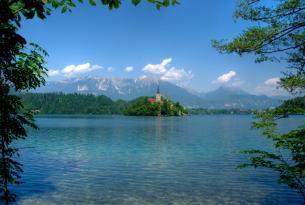 Verano en Eslovenia en grupo