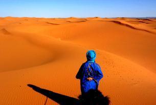 Marrakech y Desierto con noche en Jaima del desierto Sahara