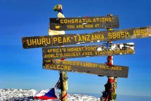Tanzania:Trekking Kilimanjaro / Ruta Machame