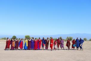 Safari Sentimiento Masai