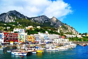 Italia: Nápoles, isla de Capri, Pompeya y Costa amalfitana