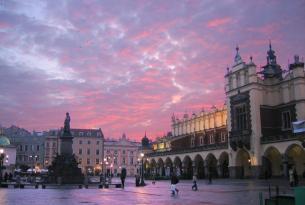 Centroeuropa a tu aire en tren y barco (con Varsovia, Cracovia, Budapest y Praga)