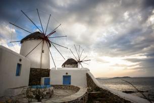 Grecia: Atenas, Santorini y Mykonos