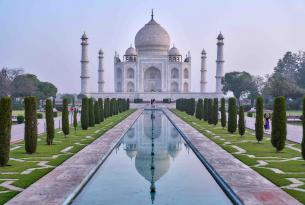 La India: los colores de Rajasthan (incluye el Taj Mahal)
