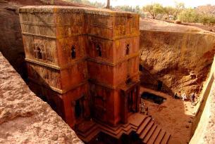 Iglesias dIglesias de Lalibela en grupoe Lalibela en grupo