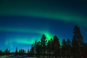 En busca de las auroras boreales en Escocia a tu aire en coche de alquiler