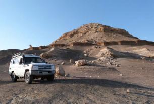 Egipto, desierto blanco, salida agosto