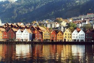 Noruega: Bergen y Stavanger con mini-crucero por los fiordos de Lyse y Geiranger