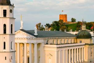 Países Bálticos a tu aire en coche de alquiler 12 días