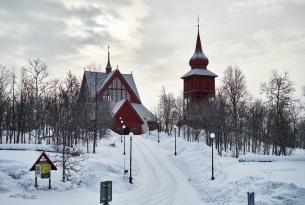 Paisajes de invierno, Suecia en tren: Estocolmo, Malmö, Gotemburgo.