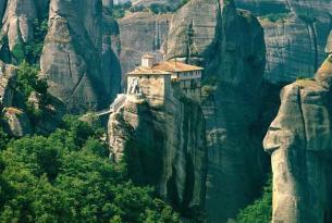 Circuito por Grecia: Atenas, Santorini, Meteora y 7 días de travesía en velero
