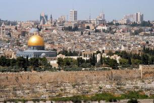 Israel al completo de Norte a Sur