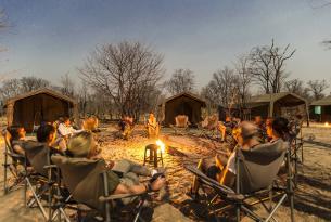 "Botswana en grupo: Safari en campamento Movil ""Deluxe"""
