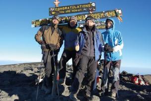 Ascensión al Kilimanjaro por la ruta Machamé