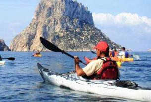 Vuelta a Ibiza en kayak
