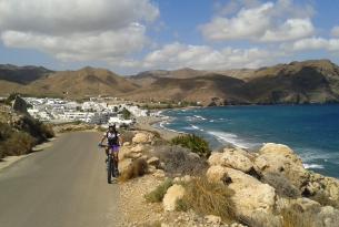 Parque Natural del Cabo de Gata en mountain bike