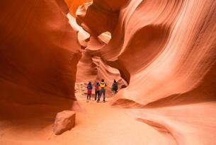 Caminata al Gran Cañón del Colorado  y Parques Nacionales del Suroeste de los Estados Unidos