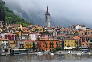 Lagos y pueblos románticos de Italia