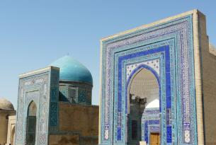 Uzbekistán: La ruta de la seda  Low cost . Es un grupo internacional de pasajeros  de diferentes países. con  guia multilingüe