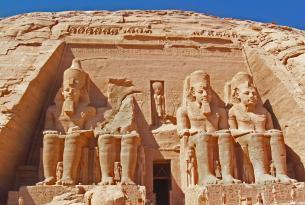 Circuito Cairo  &  crucero por el Nilo con visita incluida Abu Simbel con Luz y Sonido (sin  aéreo)