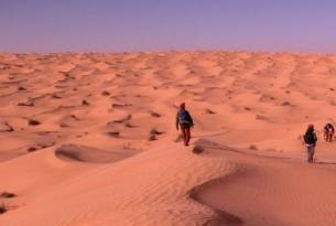 Túnez -  Senderismo en el desierto.  - Especial fin de año 2013