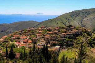 Las montañas del sur de Albania