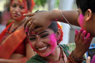 Disfruta la fiesta de colores Holi-Rajasthan de la India