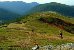 Viaje en bicicleta MTB. Vitosha y Rila, la ruta alpina de Bulgaria.