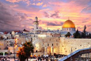 Israel y Tierra Santa (con Jerusalén, Belén, Galilea y Nazaret)