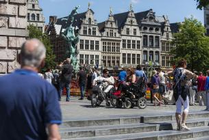 Bélgica con todos sus encantos: Bruselas, Gante, Brujas y Amberes.