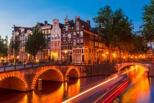 Oferta de viaje a Ámsterdam, visitando  Marken y Volendam (por libre con excursiones en grupo)