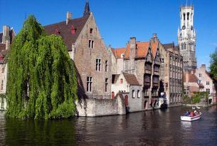 Semana Santa en Bélgica: Bruselas y Brujas a tu aire con excursión