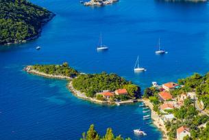 Croacia: crucero por la costa croata y las Islas Dálmatas en velero de lujo (velero privado hasta 11 personas)