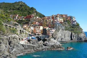 Degusta los mil sabores de Italia: Roma, Toscana, Cinque Terre, Pisa, ...