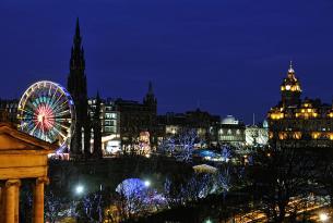 Navidad, Nochevieja y Año Nuevo en Escocia (Edimburgo, las Highlands y el Lago Ness)