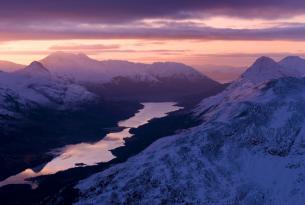 Viaje de senderismo y trekking en invierno en Escocia: el Parque Nacional de Cairngorms