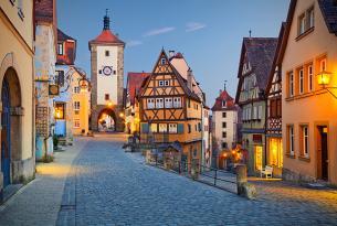Alemania romántica (con Frankfurt, Innsbruck, la Selva Negra y Munich)
