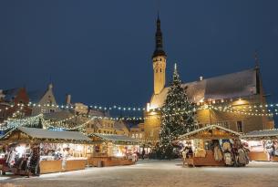 Mercadillos de navidad en Tallin: la maravilla del Báltico