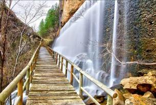Puente de Diciembre de senderismo en la Hoz del Beteta de Cuenca (especial singles)