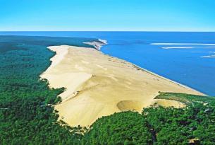 Senderismo en grupo : Las Landas francesas, Costa de Aquitania y Burdeos
