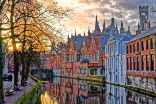 Circuito en Flandes especial singles: Brujas, Bruselas, Gante, Amberes...