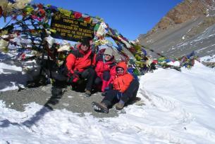 Trekking rodeando el macizo del Annapurna