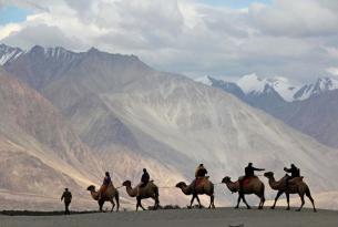 Viaje al increíble Ladakh con guía local en español y coche privado