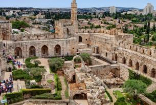 Lugares sagrados de Tierra Santa: Jerusalén, Belén, Nazaret y alrededores