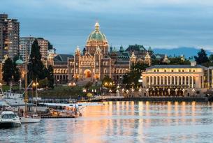 Las Rocosas al completo: con Whistler, Victoria y Vancouver (10 días)