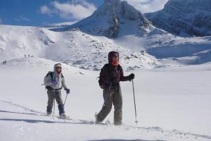 Rila y Pirin en raquetas de nieve (Bulgaria)