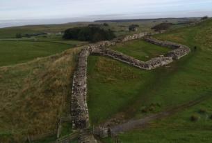 Inglaterra: senderismo por el muro de Adriano