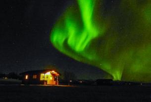 Puente de Diciembre en Islandia, aventura y Auroras Boreales. 8 días