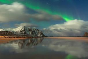 Noruega en septiembre: ballenas y auroras boreales en Lofoten (aventura confort)