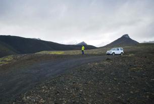Persiguiendo auroras boreales por Islandia a tu aire en coche de alquiler